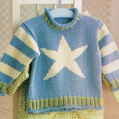 Starfish Childrens Baby Summer Sweater 6mths - 4 yrs Cotton Knitting Pattern in Crafts, Needlecrafts & Yarn, Crocheting & Knitting | eBay!