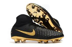 d4780ba539256 Good Nike Magista Obra II Elite DF FG Sock Soccer Cleats - Black/Gold