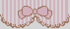 Alpha friendship bracelet pattern added by emcore. Cross Stitch Kitchen, Mini Cross Stitch, Cross Stitch Borders, Cross Stitch Designs, Cross Stitching, Cross Stitch Embroidery, Cross Stitch Patterns, Alpha Patterns, Loom Patterns