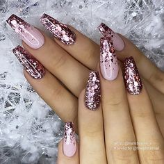 nails - Long Nail Designs -Trendy nails - Long Nail Designs - Simple Winter Nails Matte Color For Short Nail Art Designs - 10 nette und fantastische Acrylnagel-Entwurfs-Ideen für 2019 Fingernägel 39 Birthday Nails Art Design that Make Your Queen Style New Years Nail Designs, Long Nail Designs, Nail Art Designs, Nails Design, Nail Designs With Glitter, Popular Nail Designs, Ombre Nail Designs, Pretty Nail Designs, Best Acrylic Nails