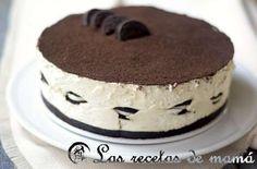 Tarta de queso con galletas Oreo – Chessecake de Oreo Oreo Cake Recipes, Cookie Recipes, Dessert Recipes, Desserts, Cheesecake, Oreo Torta, Good Food, Yummy Food, Oreo Dessert