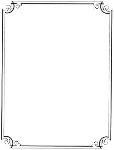 Free Clip Art Page Borders and Frames