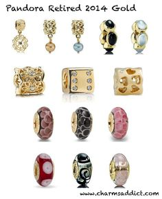 Charms Addict | Pandora 2014 Retirement List