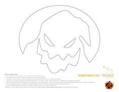 Eiffel tower pumpkin carving stencil free pdf pattern to download jack skellington and oogie boogie pumpkins for halloween thats right pronofoot35fo Images