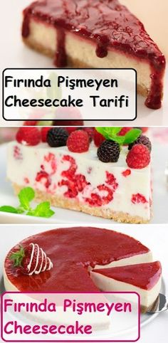 Fırında Pişmeyen Cheesecake Tarifi Baked Uncooked Cheesecake Recipe the oven # Bagel Smoking the Tarifler Cheap Clean Eating, Clean Eating Snacks, Snickers Torte, Cold Cake, Recipe For Teens, Baked Cheesecake Recipe, Zucchini Cake, Salty Cake, Savoury Cake