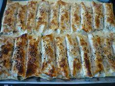 Börek mit Spinatfüllung – Ispanaklı Börek - Türkische Gerichte