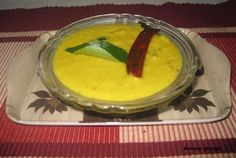 The most common vegetable to make erissery is pumpkin and it is a well known and loved curry all over Kerala. And I (read it, my family) love this dish too and end up making it very often. Back home sometimes my mum cooks the pumpkin along with other legumes to produce the same curry. The pleasant sweetness of the pumpkin combined with the freshly grated coconut is definitely a treat to one's palate