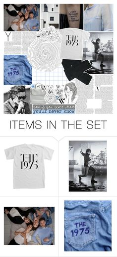 """""""be a riot, cause i know you.✧"""" by same-sunset ❤ liked on Polyvore featuring art and the1975"""