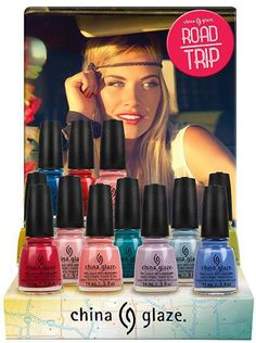 China Glaze Road Trip Spring 2015 Collection