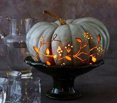 Pierced pumpkin