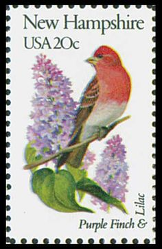 1982 20c New Hampshire State Bird - Catalog # 1981 For Sale at Mystic Stamp Company