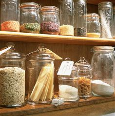 Glass Jar storage