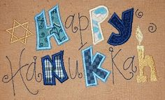 Happy Hanukkah Applique Sampler - 2 Sizes! | Religious | Machine Embroidery Designs | SWAKembroidery.com JesseKate Designs