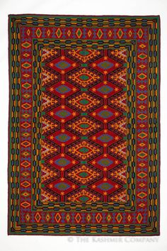 For thousands of years, intricate and colorful textiles have been designed by the native peoples of North America, Central Asia and the west Asian lands of Kashmir, India and Pakistan. Composed of str