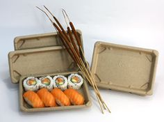 Be Green Packaging LLC is Genji's proud partner in bringing our customers the world's first fiber-based compostable sushi trays.
