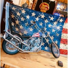 Easy Rider, Choppers, Moto Chopper, Captain America, Harley Davidson, Route 66, Louis Vuitton Neverfull, Tote Bag, Boutique