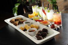 Minimojitos nas versões de tangerina, tradicional, pimenta, grapefruit e morango do NOH