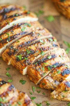 Easy Grilled Chicken - The best and easiest marinade ever - no-fuss and packed with so much flavor! You'll never need another grilled chicken recipe again!