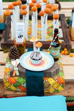 Woodland Birthday Party Tablescape!