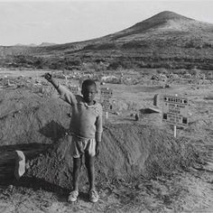 David Goldblatt, 'The salute of the banned African National Congress at the graves of four assassinated black community leaders', Cradock, E...