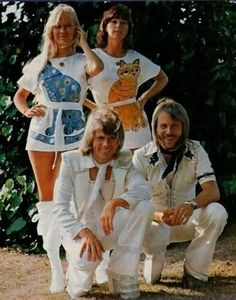 ABBA - ♫  If you change your mind ♫  I'm the first in line! ♫  Honey I'm still free! ♫  Take a chance on me! ♫