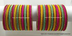 Price For orders, whatsapp to We ship All over the world Silk Thread Bangles Design, Silk Bangles, Bridal Bangles, Thread Jewellery, Bangle Set, Bangle Bracelets, Chuda Bangles, Designer Bangles, Jewelry Tattoo