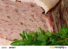 Masová paštika recept - TopRecepty.cz Thing 1, Mashed Potatoes, Ethnic Recipes, Food, Whipped Potatoes, Essen, Yemek, Smash Potatoes, Meals