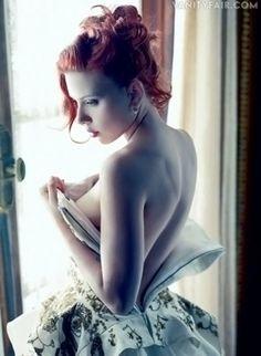 Scarlett Johansson, Vanity Fair, December 2011. Talented actress & Super Hero