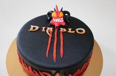 Diablo 3 cake