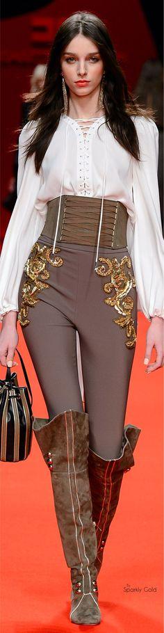 Elisabetta Franchi Fall 2016 RTW Clothing, Shoes & Jewelry - Women - women's belts - http://amzn.to/2kG8U55