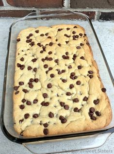 Soft Batch Chocolate Chip Cookie Bars
