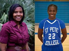 Denisha Davidson, Women's Basketball Coach, has been named the 2012-13 Southern Conference Coach of the Year by the Florida College System Activities Association. SPC student Antqunita Reed also was named Conference Player of the Year. #spcollege