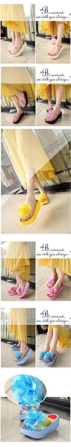 2016 New Summer Shoes Women Flip Flops Platform Slippers platform wedges fitness floral lady's slippers Shoes Woman ac63  http://playertronics.com/products/2016-new-summer-shoes-women-flip-flops-platform-slippers-platform-wedges-fitness-floral-ladys-slippers-shoes-woman-ac63-2/