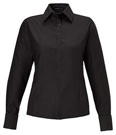 North End Refine Ladies Wrinkle Free Oxford Shirt. 78689 - Large - Black * See this awesome image @