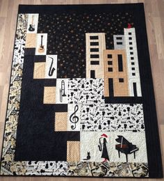 #Music to Alexander. Very cool quilt!