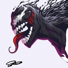 Marvel Comics, Marvel E Dc, Marvel Venom, Marvel Heroes, Marvel Universe, Best Marvel Characters, Marvel Villains, Venom Pictures, Venom Art