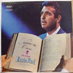 Tennessee Ernie Ford - NEARER THE CROSS (LP) $12.00