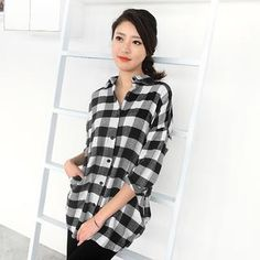 Buy '59 Seconds – Gingham Long Shirt' with Free International Shipping at YesStyle.com. Browse and shop for thousands of Asian fashion items from Hong Kong and more!