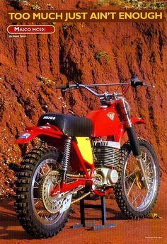 Maïco MC501 - Vintage Motocross