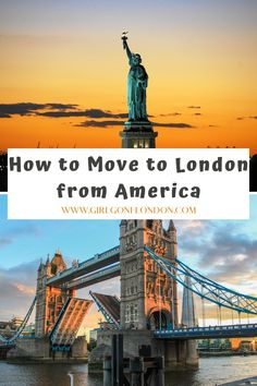 For anyone wondering how to move from America to London or how to move from America to England to follow your dreams, here are some things you really need to know. Moving To England, Moving To The Uk, Best Countries In Europe, London With Kids, London Night, London Attractions, Maldives Travel, Things To Do In London, London Life