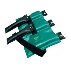 Pouch Variable Wrist and Ankle Weight - 25 lb, 5 x 5 lb inserts - Green
