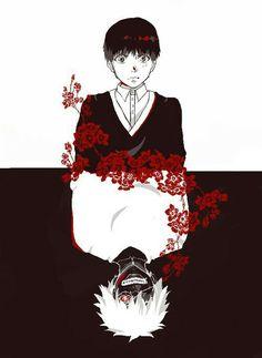 Bildresultat för tokyo ghoul black and white