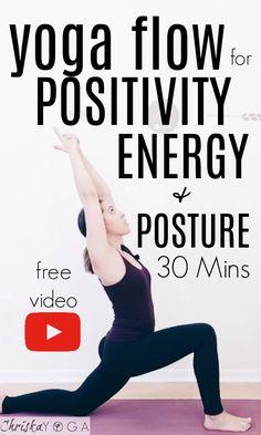 30 Min Mood-Lifting Yoga for Positivity | Yoga Class for Energy and Heart Opening | ChriskaYoga