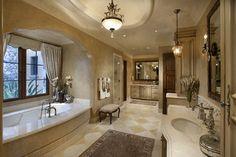 Master Bath - traditional - spaces - phoenix - R.J. Gurley Custom Homes