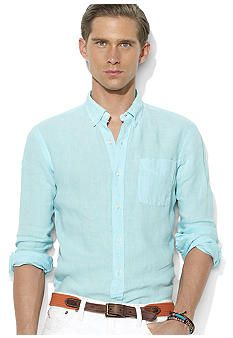 Ralph Lauren Linen Shirt | Men's Style | Pinterest
