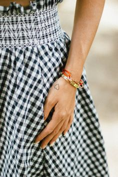 simple tattoo and jewelry // cartier love bracelet // inked by dani heart tattoo
