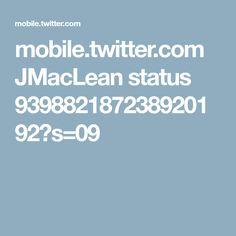 mobile.twitter.com JMacLean status 939882187238920192?s=09
