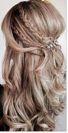 Cute braids hairstyle