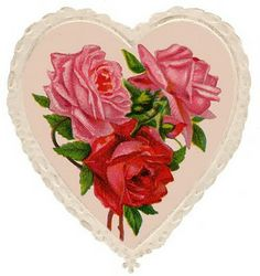 Shop Vintage Heart and Roses Valentine's Day Post Card created by vintageshoppe. Personalise it with photos & text or purchase as is! Valentines Day Post, Roses Valentines Day, Valentine Images, Vintage Valentine Cards, Valentine Heart, Vintage Heart, Vintage Tags, Vintage Postcards, Vintage Pink