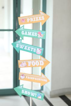 Kassie's Hello Kitty Carnival Themed Party – Entrance